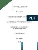 EL USO DEL LENGUAJE N° 1.docx