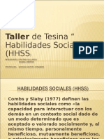 habilidades sociales hhsss