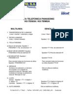 ResumenKX-TEM824 Soluciones Problemas