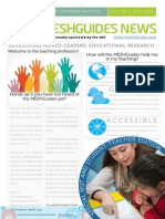 Sponsered by the NUT - MESHGuides News - Student Edition - Summer 2015