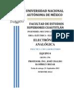 Práctica 1 Electrónica Analógica