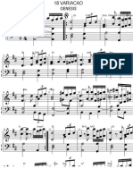 18ª Variação Paganini - Gênesis 1