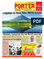 Bikol Reporter October 25 - 31, 2015 Issue