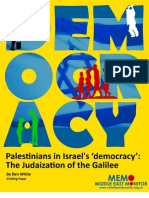 Palestinians in Israel Democracy[1]