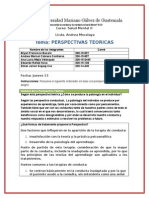perspectiva cognitiva-conductual