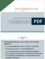 Destrezas de Litigacion Oral