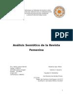Análisis Semiótico de Una Revista