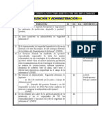 Cuestionario de Verificación Cumplimiento Cnbs 1301-2005