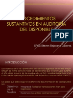 Audit Del auditoria del disponibleDisponible