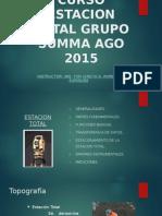 Curso Estacion Total Grupo Summa Ago 2015