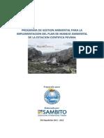 Programa de Gestion Ambiental