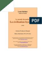 Brehier Louis - Civilisation_byzantine-1