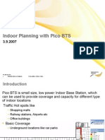 Indoor Planning With Pico BTS