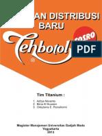 Business Model and Plan Teh Botol Sosro