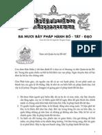37 Phap Hanh Bo Tat Dao