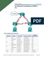 5.2.3.4 Lab - Troubleshooting Advanced Single-Area OSPFv2