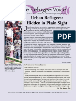 The RefugeeVoice - Urban Refugees
