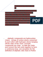 Esters Are Aliphatic Because They Have Open Chains of Carbon