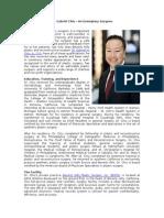Dr. Gabriel Chiu - An Exemplary Surgeon