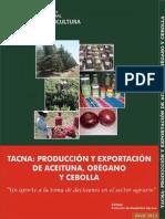 Produccion Exportacion 2013 Aceituna