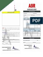 ASR Formato Rev 00 Mayo 15-2015