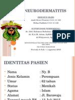 Poster Mini Neurodermatitis
