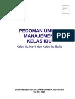 3-1 Pedoman Umum Manajemen Kelas Ibu