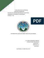 Información a Revelar Sobre Partes Relacionadas NIC 24 y Sección 33
