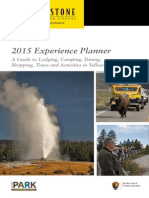 2015 Yellowstone National Park Lodges Experience Planner