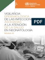 Vigilancia Epi Infecciones Modulo IV 2013