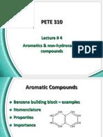 L4-Aromatics and Non HC Compounds