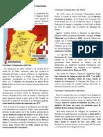 Corrientes Colonizadoras Del Territorio Argentino