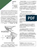 Las Instituciones en La América Española