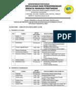 Rekapitulasi Peserta Git Smk-pp Negeri Saree Tahun 2015