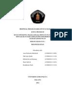 Ana Cholisatin Mardiyah Universitas Brawijaya PKM-Penelitian