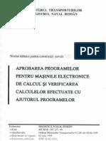 2-7 Aprobarea Programelor Pentru Masinile Electronice de Calcul Si Verificarea Calculatoarelor Efectuate Cu Ajutorul Programelor