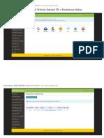 Sistem Infromasi Pendaftaran Online Website Sekolah PHP MYSQL Dan Pendaftaran Online