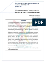 Etheory an Amalgamation of Literature and Environment in South Asian English Literature