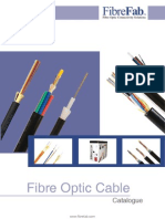 FibreFab Fibre Optic Cable Catalogue