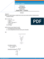 ICSE-Physics Sample Paper-1-solution-Class 10 Question Paper