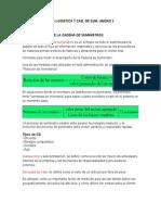 Guía Logistica y cadenas de suministro