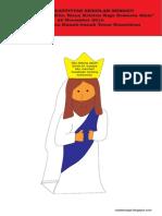 Bahan Kreativitas Sekolah Minggu 22 November 2015 PIA St.Theresia Kanak-kanak Yesus Kumetiran