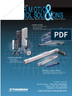 Linear Motion Control Solutions Cten