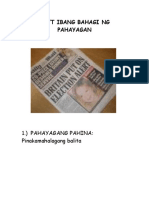 7271173 Parts of the Newspaper Tagalog