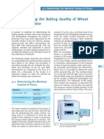 Determining Baking Quality of Wheat