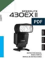 Canon Speedlite 430EXII ES