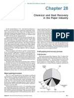 Chemical and Heat Recovery in the Paper Industry