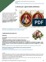 Gesù All'Umanità (Italia)_ Crociate Di Preghiera Divise Per i Giorni Della Settimana