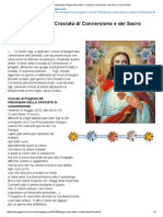 Gesù Allumanità Italia Giugno Mese Della Crociata Di Conversione e Del Sacro Cuore Di Gesù