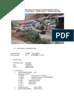 Evaluac de Agua Potable y Saneamiento